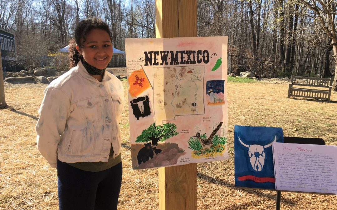 Weekly Photo: 5th Grade State Projects