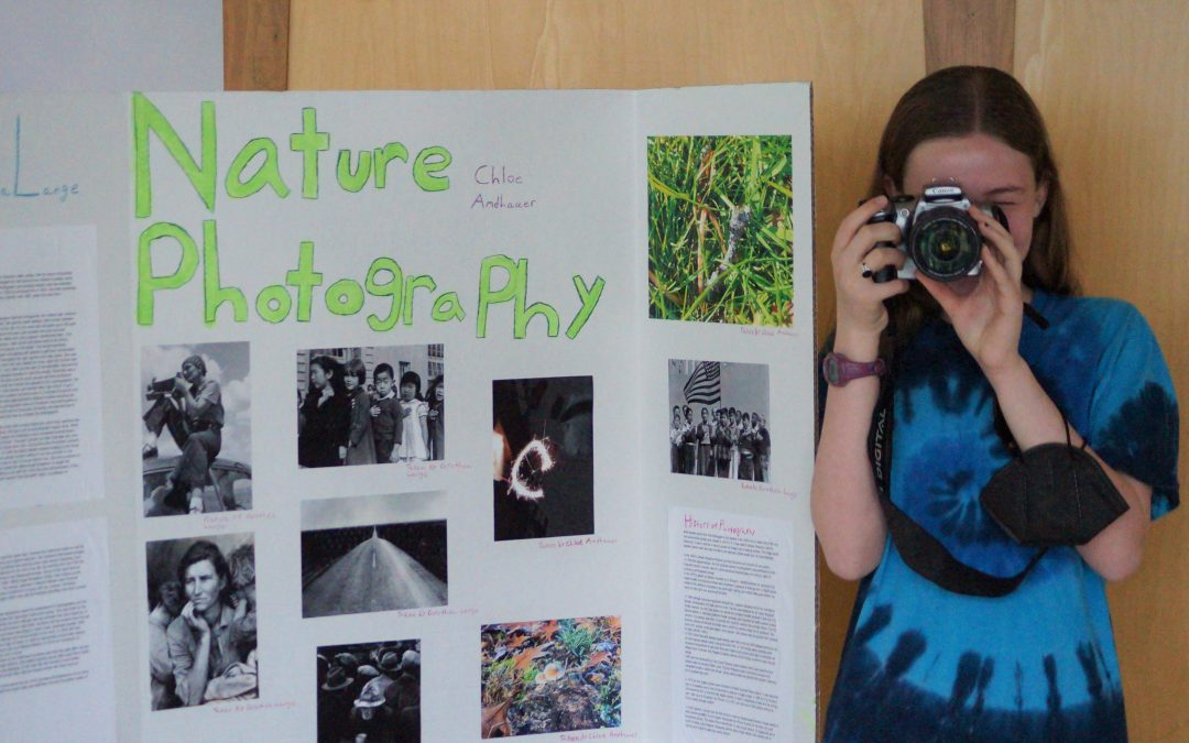 Weekly Photo: 8th Grade Project