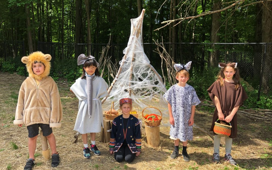 Weekly Photo: 2nd Grade Class Play