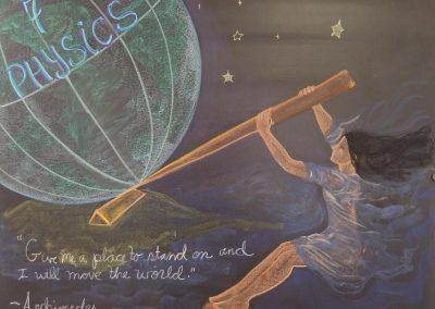 Chalkboard7th grade Physics