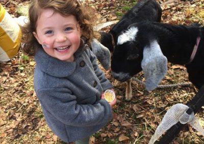 HVWS Student at the Farm
