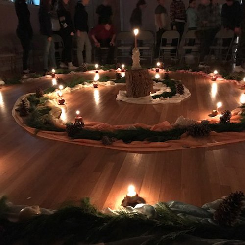HVWS Advent Spiral