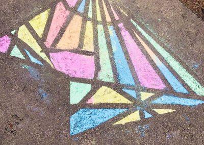 Instagram 3rd Grade Chalk Drawing George