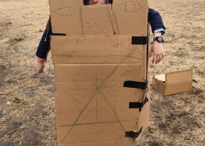 Spanish Outside Grade 4 Portable Shelter