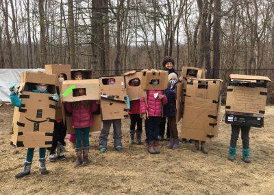 Spanish Outside Grade 4 Portable Shelters