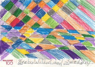 Waldorf 100 Postcard
