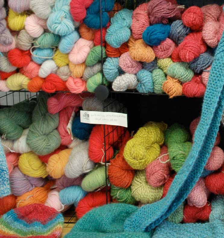Jamie Harmon Handcrafted Yarn at HVWS Holiday Market